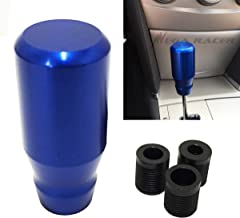 Universal Metal BLUE Manual Transmission Speed 4 5 6 Sport Gear Stick Shift Knob JDM Style Auto US Shifter Console Lever