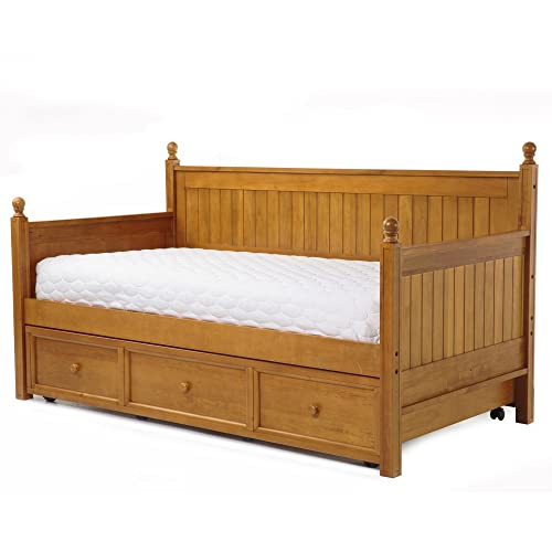 Wood Daybed With Trundle Amazon Com