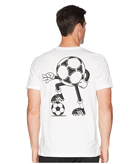 adidas Mascot Inspired Tee White Best Cheap Online Low Shipping Fee Sale Online Sneakernews Cheap Online i5sSxIf3Rg