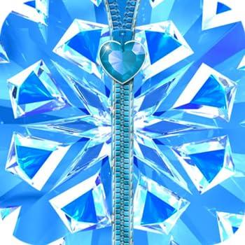 Blue Diamond Zipper Screen Lock