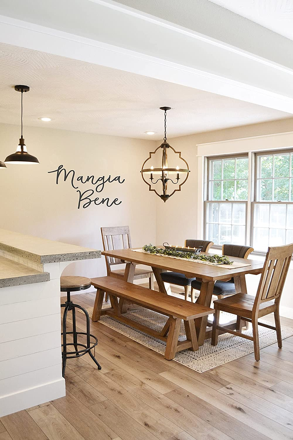 Low price DKISEE Mangia Bene Metal Home Dining All stores are sold It Well Decor Eat