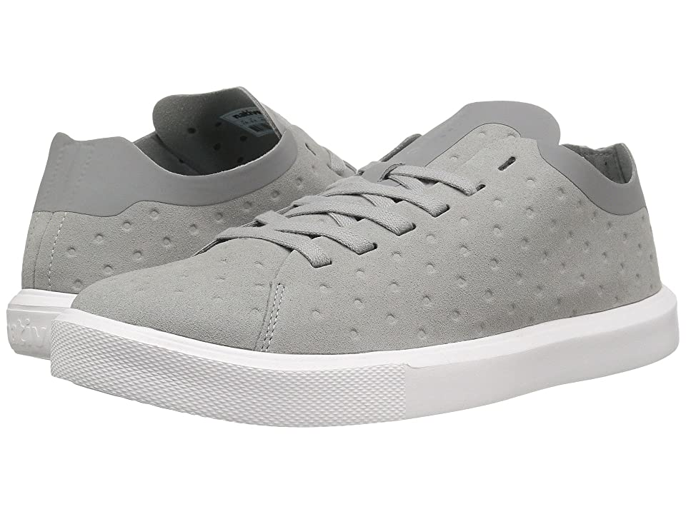 Native Shoes Monaco Low (Pigeon Grey/Shell White) Lace up casual Shoes