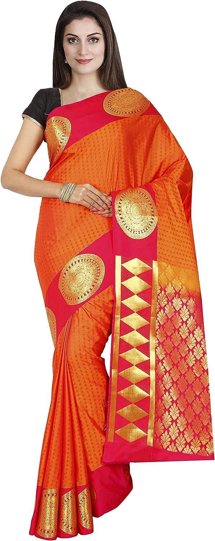 Indian Silks Kanjivaram Handloom Silk Saree
