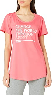 Hummel Hmlflorella Tişört S/S Spor Tişört Kadın