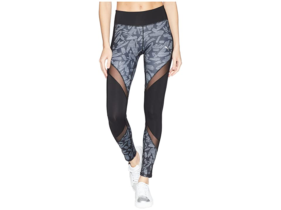 PUMA Clash Tights (Puma Black/Oceanaire) Women