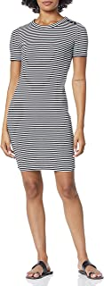 J.Crew Mercantile womens Striped Knit Dress Casual Dress