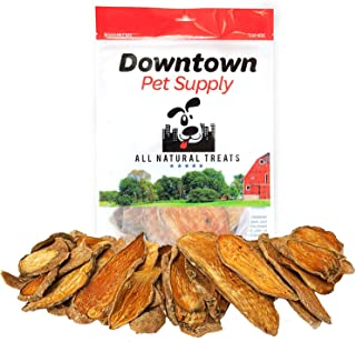 Downtown Pet Supply All Natural Dehydrated Sweet Potato Dog Chew Treats Made in USA, Single Ingredient, No Grain, Human Grade Snacks for Small, Medium and Large Dogs or Cats