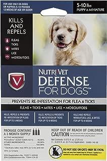Nutri-Vet Defense Flea & Tick Control for Puppies
