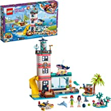 LEGO Friends Lighthouse Rescue Center 41380 Building Kit with Lighthouse Model and Tropical Island Includes Mini Dolls and Toy Animals for Pretend Play (602 Pieces)