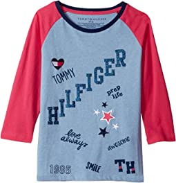 Tommy Hilfiger Kids - Love Always Tee (Big Kids)