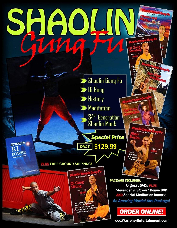 Credence Shaolin Gung Fu San Jose Mall Box Set DVDs 6