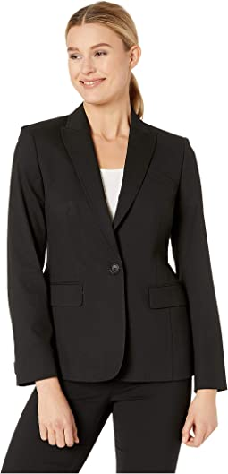 Washable Suiting One Button Jacket