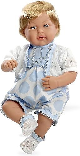 Arias 50cm   Eleganz Mies Swarovski Elements Try Me Puppe mit Lachen Mechanismus