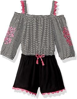 a6c1260902d6 Amazon.com  Little Girls (2-6x) - Jumpsuits   Rompers   Clothing ...