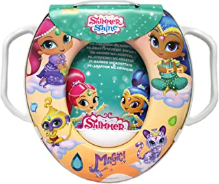 Potty Training Toilet Seat, Shimmer&Shine Toilet Seat Children's Soft Padded Toilet Seat(Training Seat)