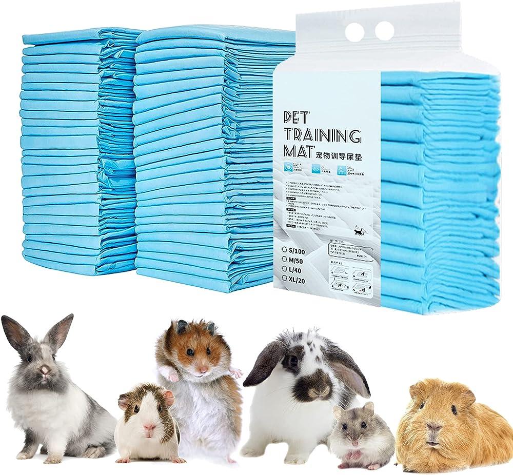 Skxzk - tappetini igienici assorbenti, per animali domestici, misura standard 56 x 56 cm , 100 pz