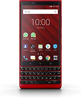 BlackBerry KEY2 Smartphone, Red