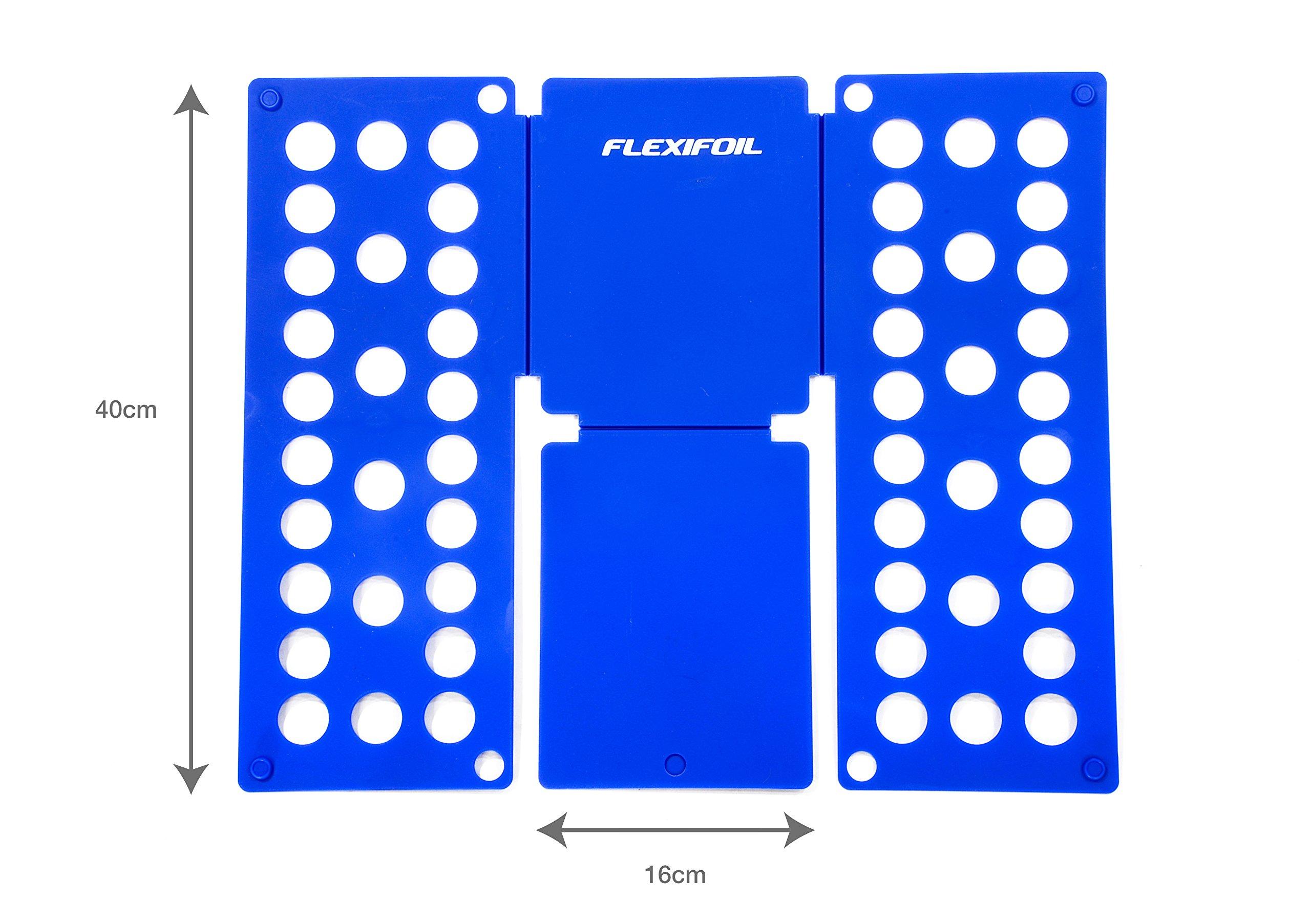 Flexifoil Miracle Fold – Doblador de Ropa de Adultos Super Rápido, de Aspecto Profesional en Segundos. Ideal Para Camisas, Camisetas, Pantalones Y De Lavandería (Tamaño 40 cm): Amazon.es: Hogar