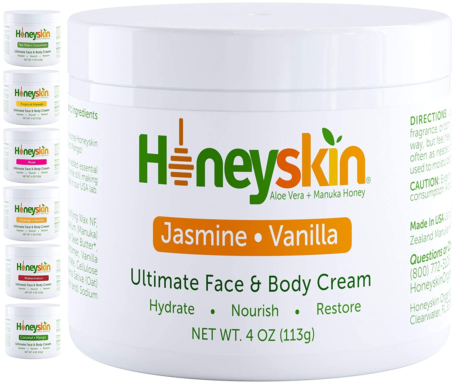 Manuka Honey Cream Face Moisturizer and Body Eczema - Selling and selling Lotion Hon At the price