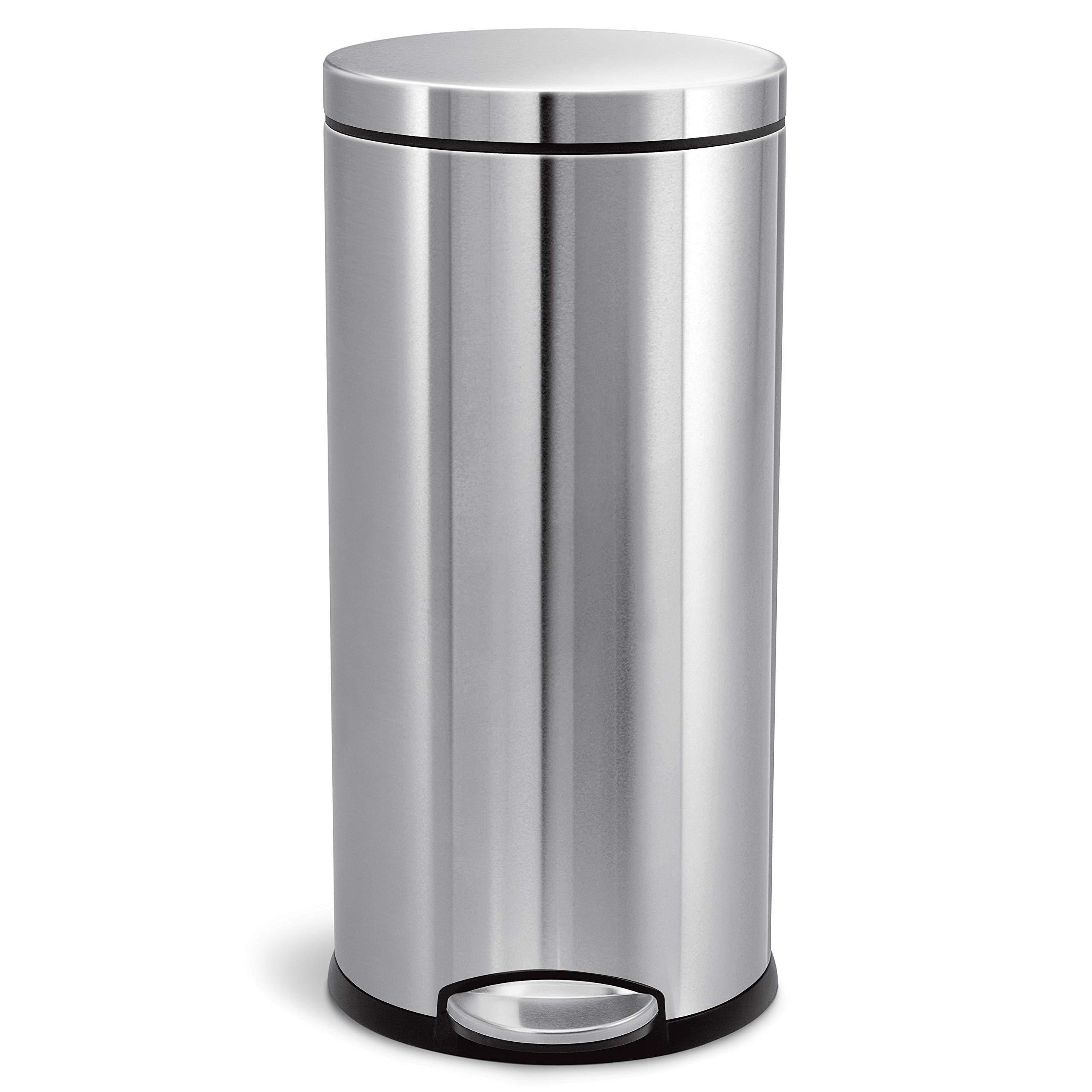 simplehuman Liter Gallon Brushed Stainless