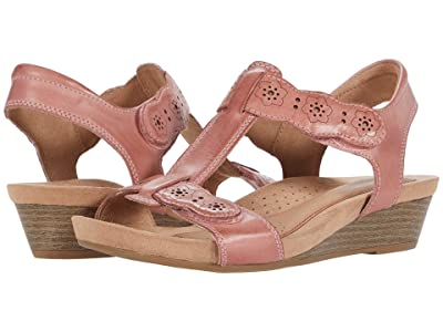 Cobb Hill Hollywood T-Strap (Light Rose) Women