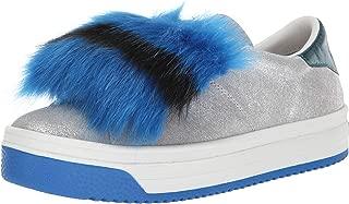 Women's Empire Multi Color Sole Sneaker with Faux Fur
