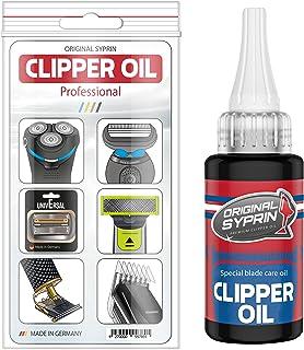 Originele Syprin Premium olie voor haartrimmers, tondeuses, scheerapparaten, kappers- en baardtrimmers-Olie voor extreme b...
