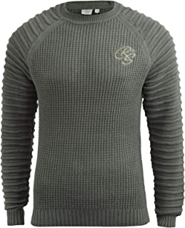 Crosshatch Mens Knitwear Sweater Top Pullover Knitted Jumper