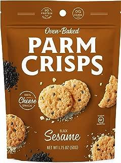 ParmCrisps Sesame, 1.75 Oz (Pack Of 12), 100% Cheese Crisps, Keto Friendly, Gluten Free