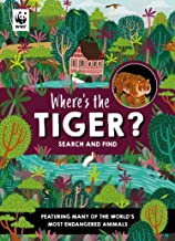 Where's the Tiger: Search and Find Book