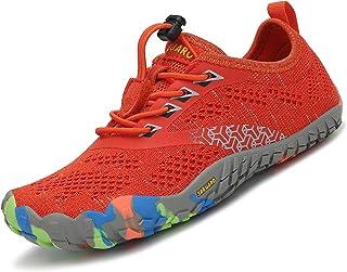 SAGUARO Calzado Descalzos Niños Zapatillas de Trail Niñas Transpirables Minimalistas Zapatillas de Deporte para Exterior I...