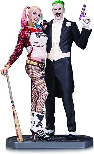 tomamos a los clientes como nuestro dios DC Comics AUG160374 Suicide Suicide Suicide Squad Movie Joker y Harley Quinn - Estatua  forma única