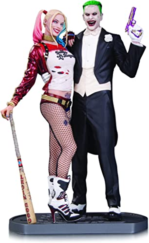 apresurado a ver DC Comics AUG160374 Suicide Squad Movie Joker y Harley Quinn Quinn Quinn - Estatua  los últimos modelos