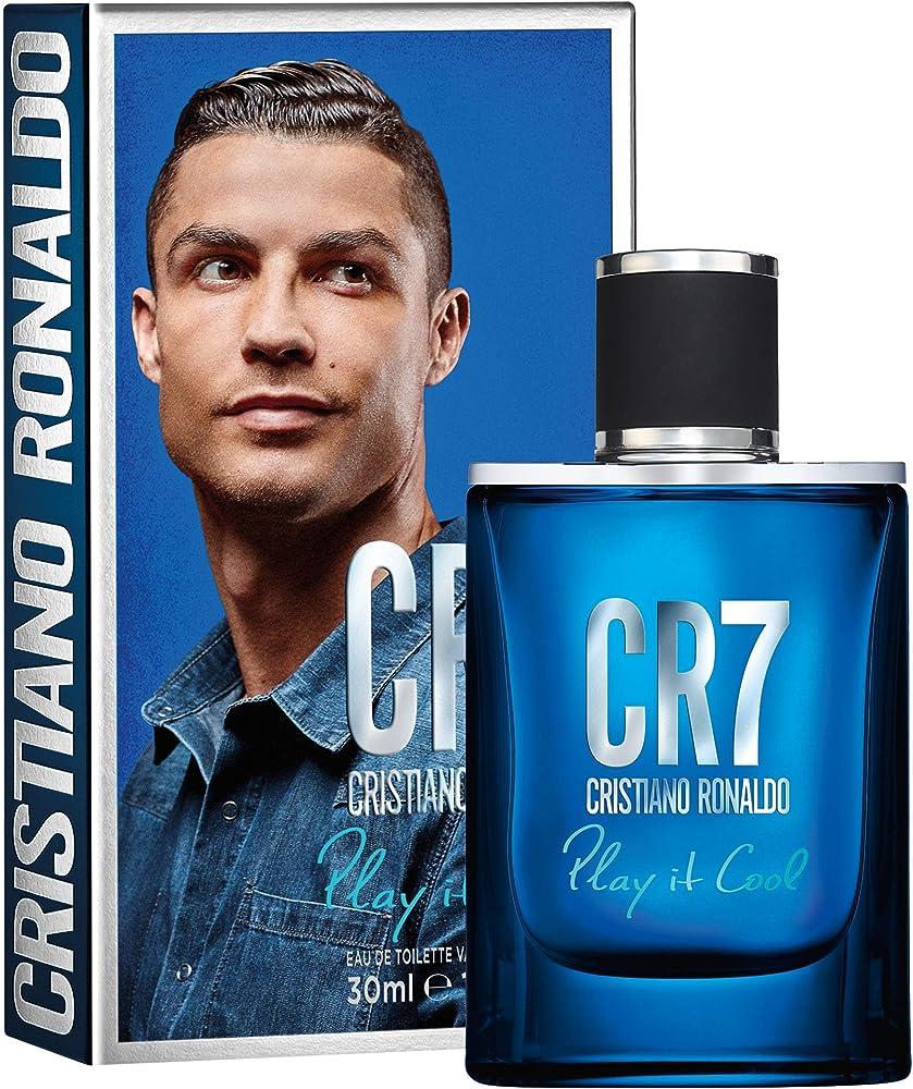 Cristiano ronaldo cr7 play it cool,eau de toilette uomo, confezione da 30 ml CR770062