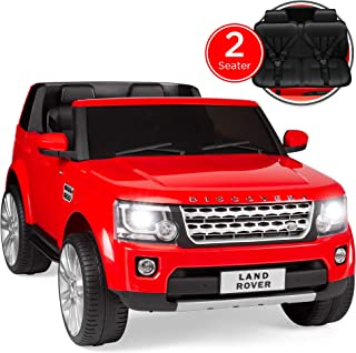 Best Choice Products 12V 3.7 MPH 2-Seater Licensed Land Rover Ride-On w/ Parent Remote Control, MP3 Player - Red