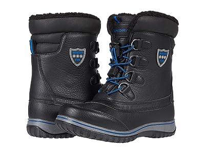 Tundra Boots Kids Alta (Little Kid/Big Kid) (Black/Royal) Boys Shoes