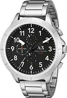 Armani Exchange Men's AX1750 Silver Watch