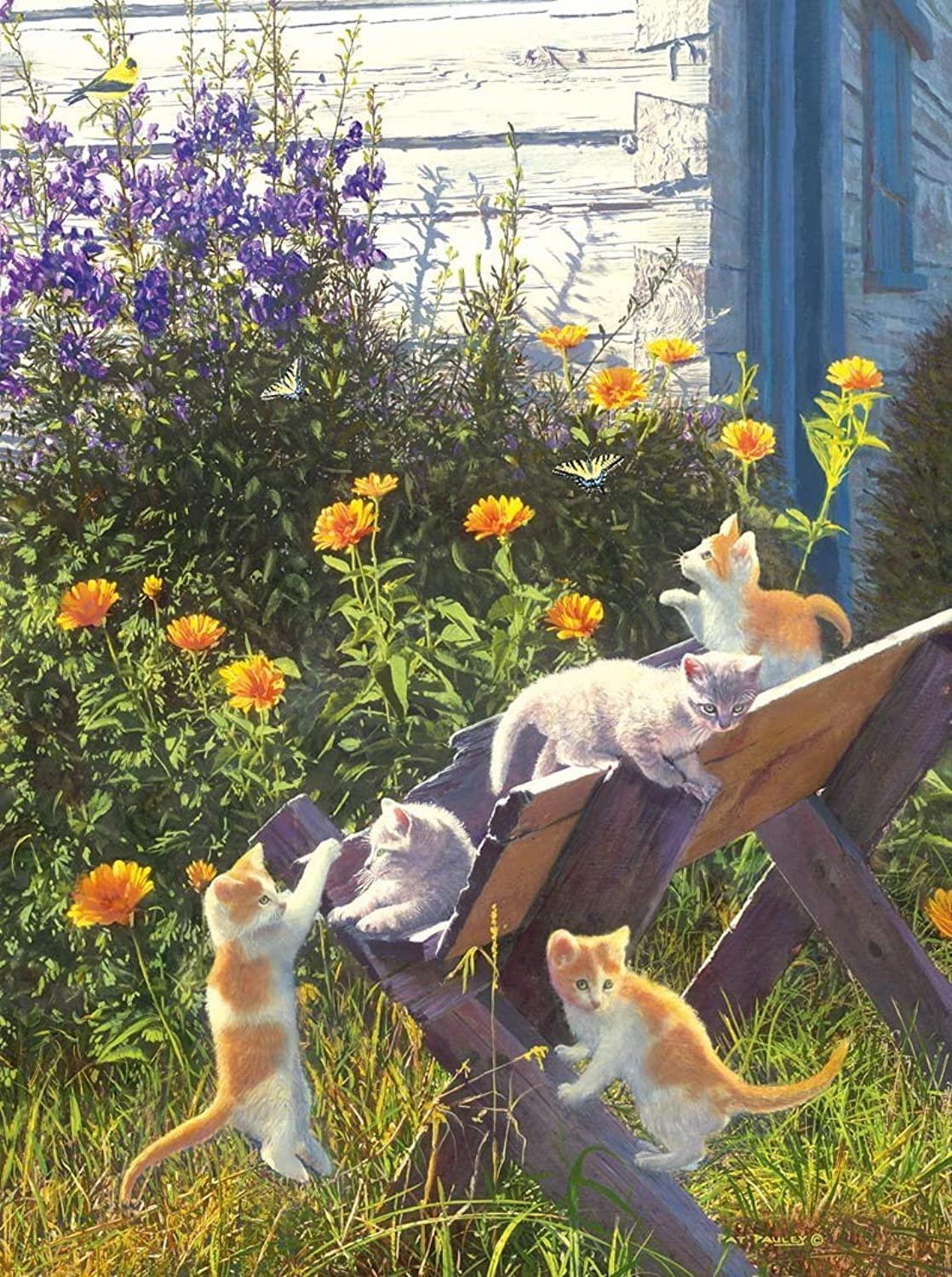 Kittens in the Country 1000 pc Jigsaw Puzzle