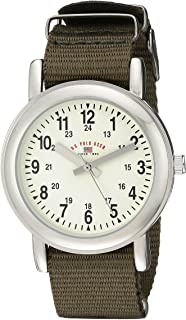 U.S. Polo Assn. Kids' USB75017 Analog Display Analog Quartz Green Watch