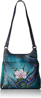 Anna by Anuschka Satchel Handbag | Genuine Leather