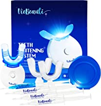 VieBeauti Teeth Whitening Kit – 5X LED Light Tooth Whitener with 35% Carbamide..