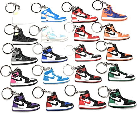 Amazon.com: xxiii Sneaker Keychain Combo Pack Mixed ...