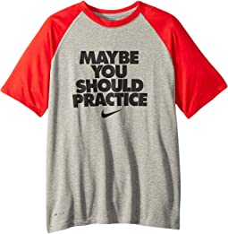 Nike Kids - Dry Legend Should Practice Tee (Little Kids/Big Kids)