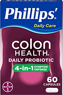Phillips' 结肠健康 益生菌胶囊,60粒