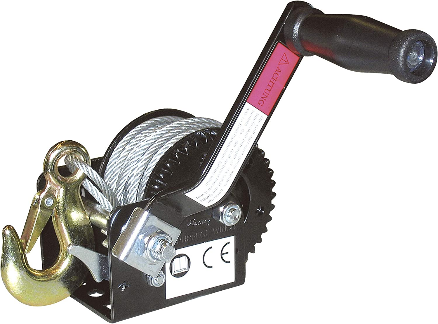Kerbl cable winch, hand winch