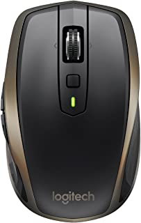 Logitech MX Anywhere 2 Wireless RF Mouse + Bluetooth Laser 1000 Dpi Right-Handed – Mouse (Right-Handed, Laser, RF (Radio F...