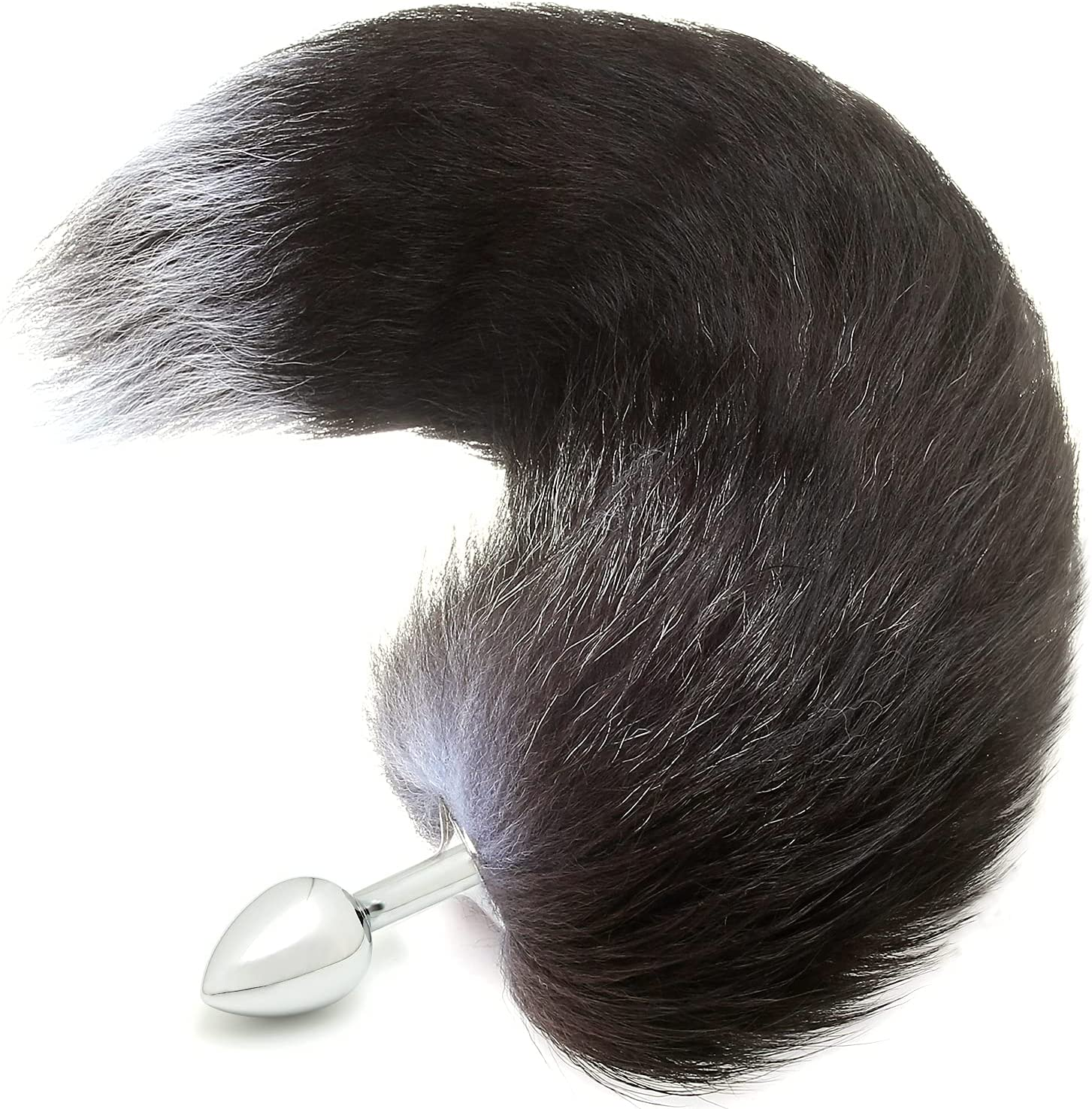 Finally resale start AKStore Small Stainless Steel Fox's Tail's Butt Anal New mail order T Plug
