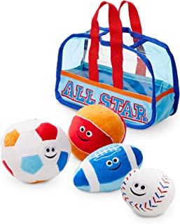 Melissa and Doug MD3053 Sports Bag Fill & Spill Toddler Toy,1 ea