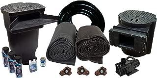 HALF OFF PONDS XLS0-30' x 30' Savio Signature 6100 Extra Large EPDM Pond Kit