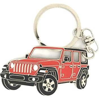 Jeep Girl Keychain Jeep Accessories Jeep Girl Gift Jeep Lover Keychain for Wrangler Women Girls(KR-Jeep girl)